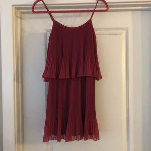 Lauren Conrad pleated dress